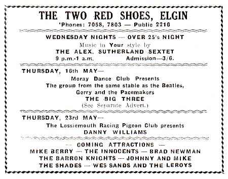 Two Red Shoes Ballroom, Elgin | Re-live the gigs, remind yourself ...